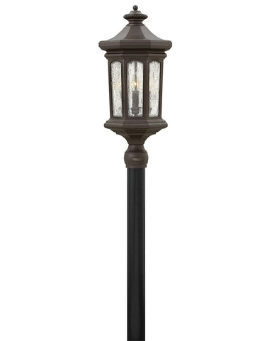 Hinkley Canada - LED Post Top or Pier Mount Lantern - Raley - Oil Rubbed Bronze