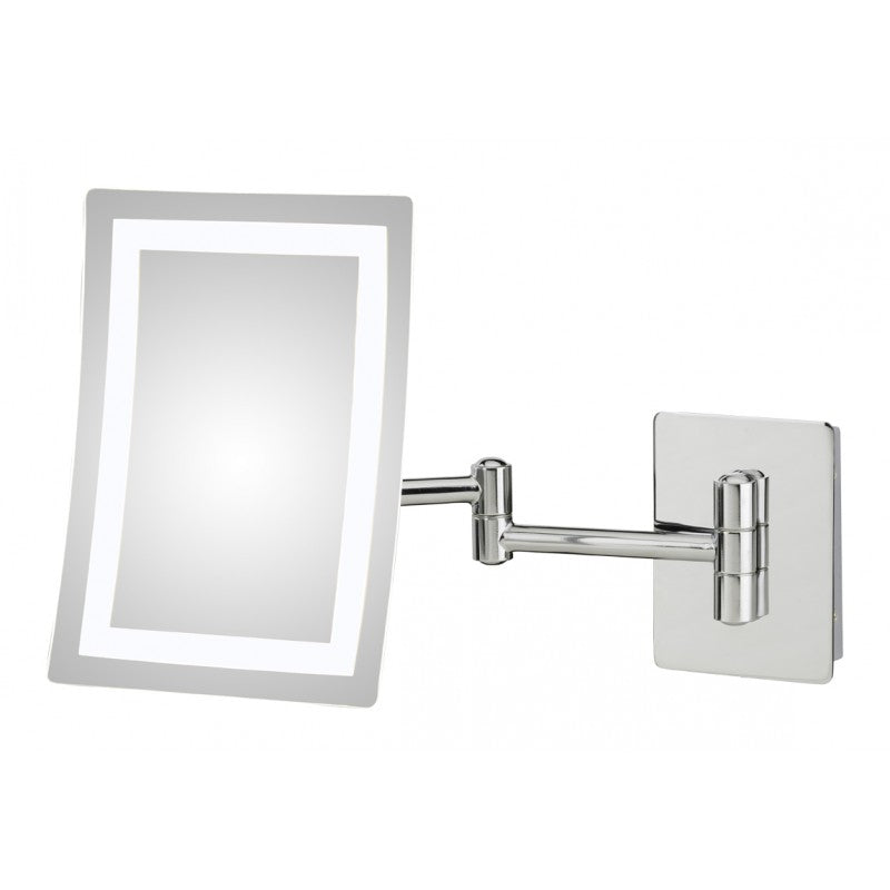 Single-Sided LED Wall Mirror