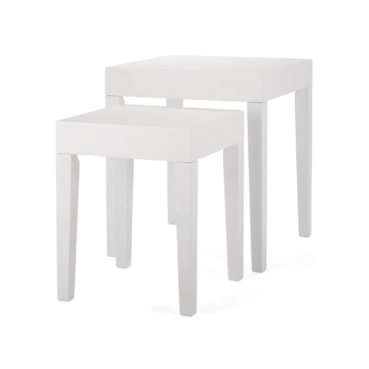 White Haron Tables (Set of 2)