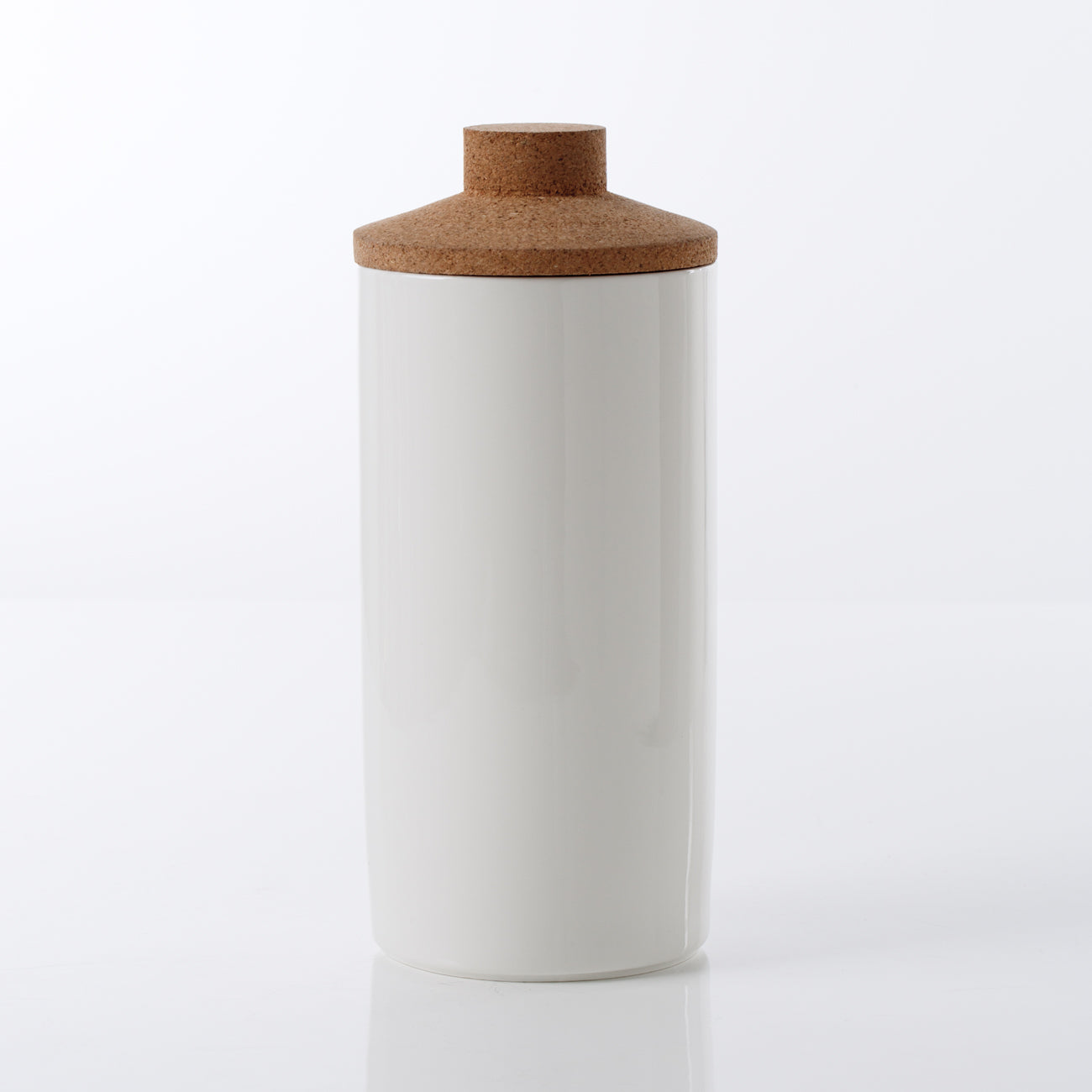 Ceramic Canister with Cork Top
