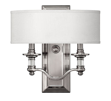 Hinkley Canada - Two Light Wall Sconce - Sussex - Brushed Nickel