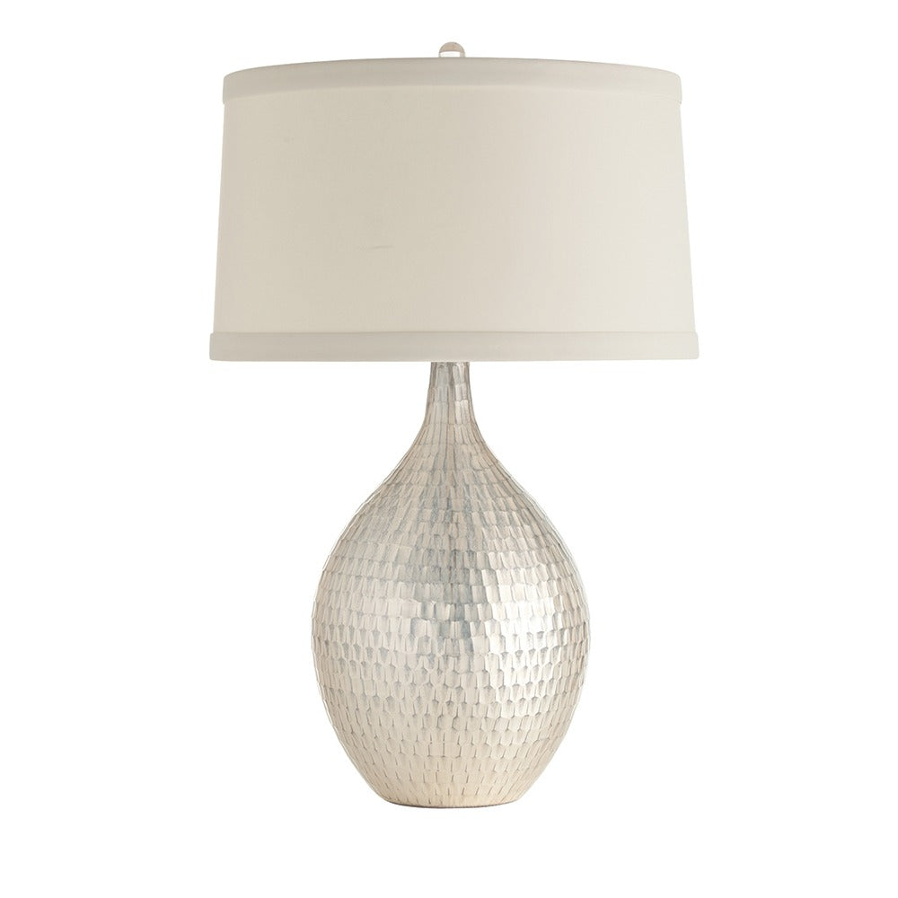 Arteriors - One Light Table Lamp - Walter - Distressed Silver