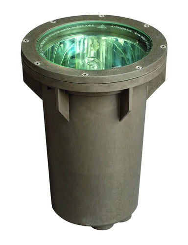 Hinkley Canada - One Light Landscape Well - Line Voltage Well Light - Bronze