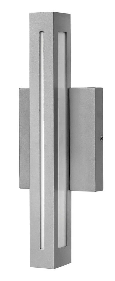Hinkley Canada - LED Wall Mount - Vue - Titanium