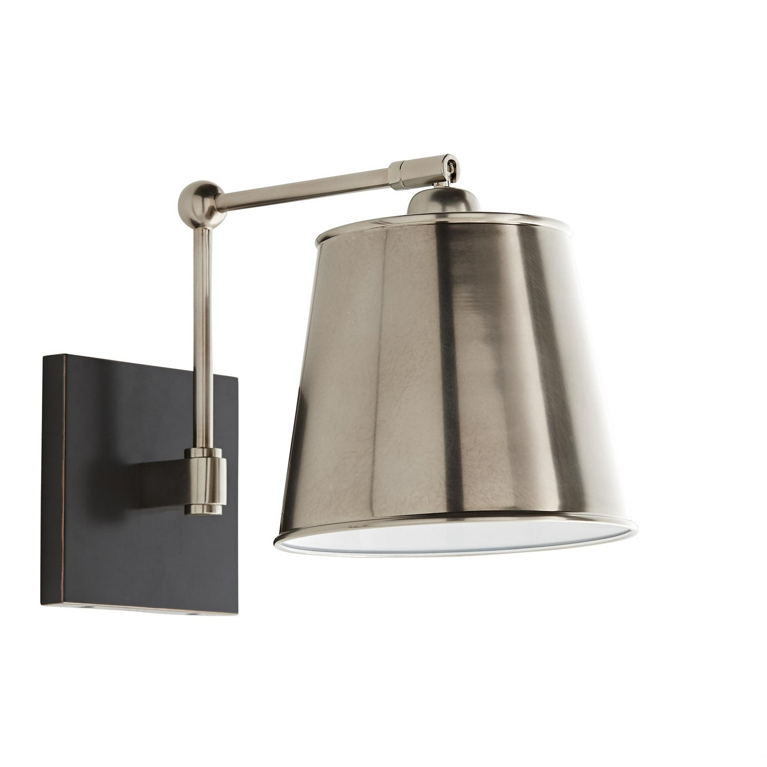 Arteriors - One Light Wall Sconce - Watson - Vintage Silver