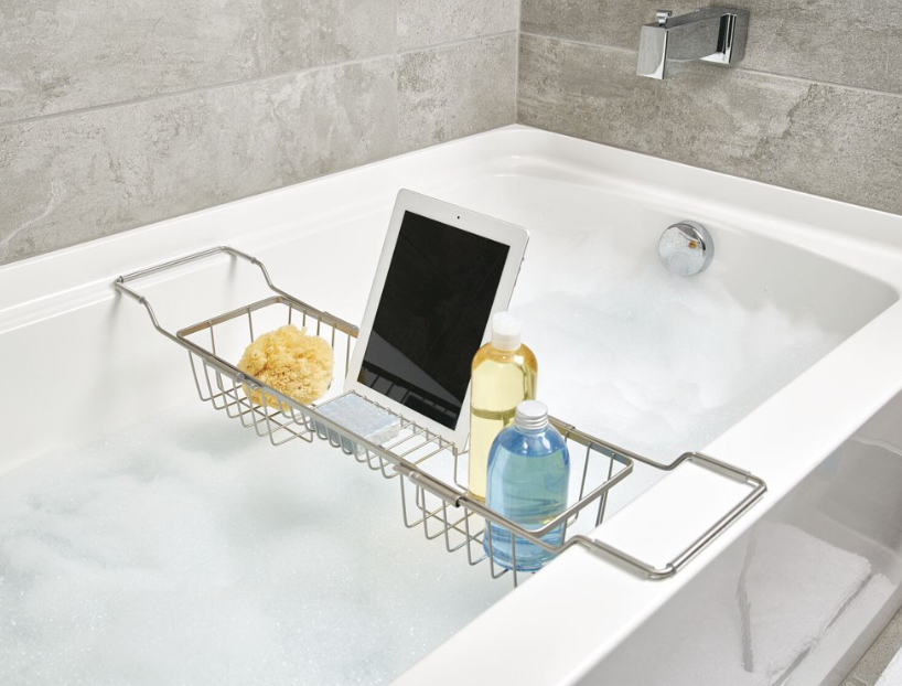 Over the Side Bathtub Caddy