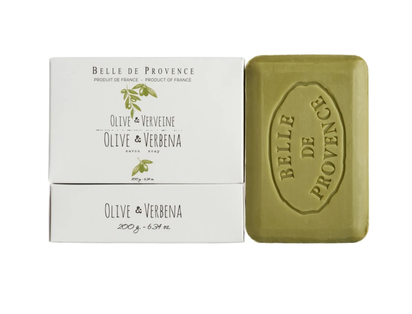 Belle de Provence Olive Oil Collection Soap Bar