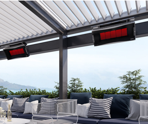 Platinum Smart Heat Gas Outdoor Heater