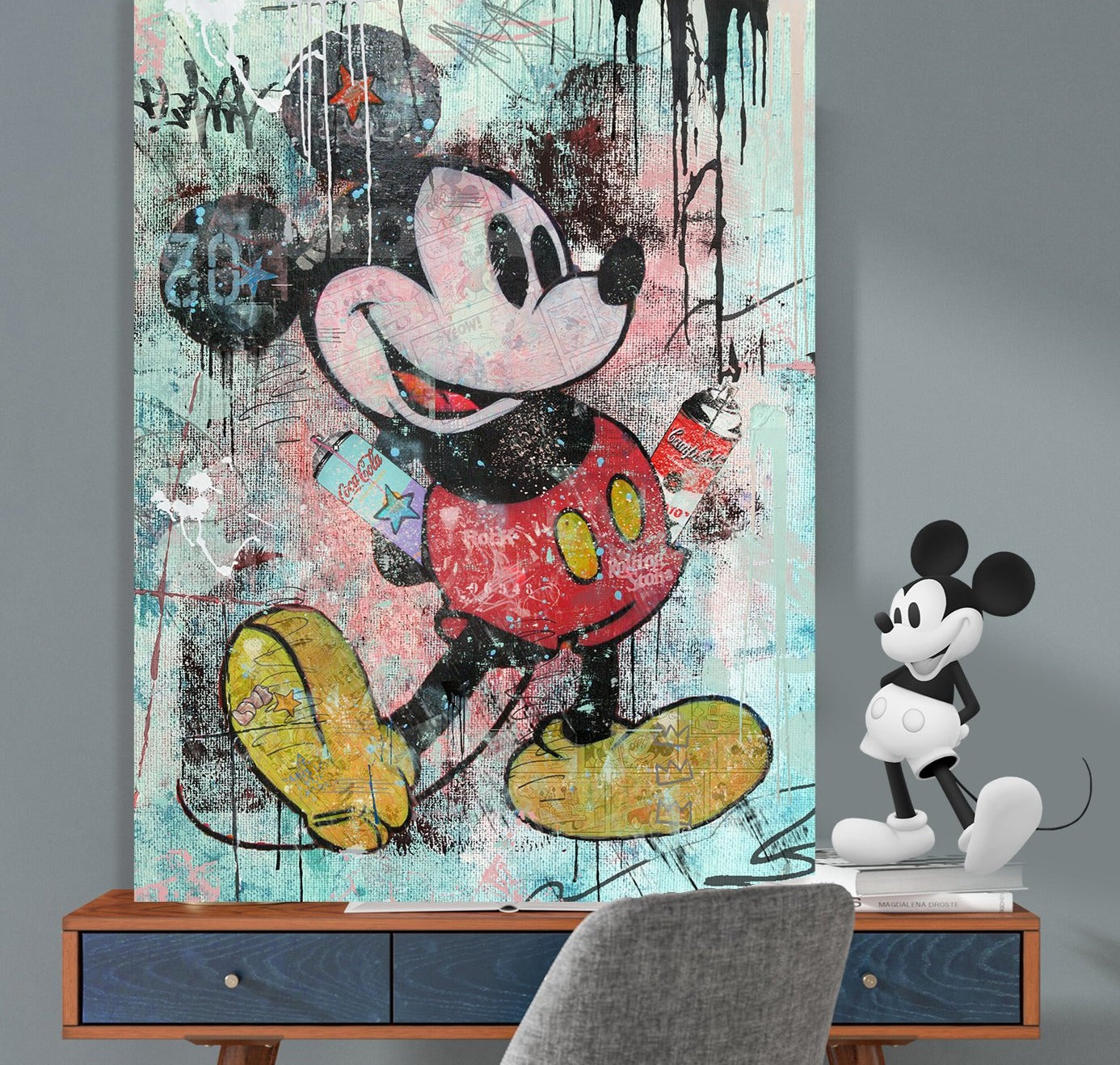 Mickey Mouse up to Trouble