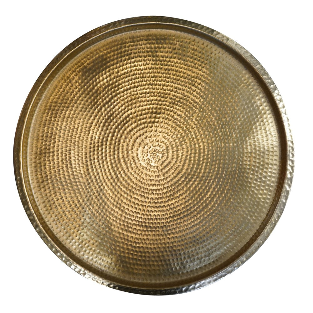 Harrison Hammered Drum Table