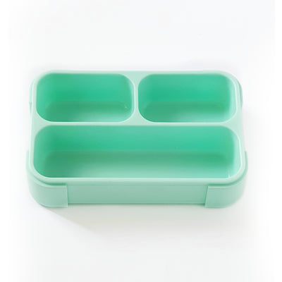Petit Bento Mini- Leak Proof Lunchbox with 3 compartments- Including Fork and Spoon
