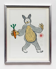 Rabbit Costume Carrot in Hand (Extended) (AF27)