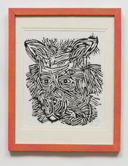 Untitled (AF88 Striped Animal Face)
