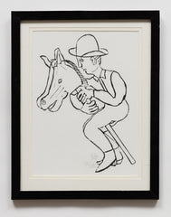 Untitled (AF97 Man Riding Hobby Horse)