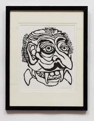 Untitled (AF99 Head with Fangs Big Nose)