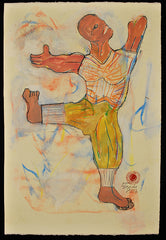 Untitled (Dancing Man with Mustard Pants)