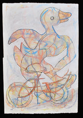 Untitled (Duck on Bicycle)