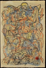 Untitled (Figure with Multiple Bird Heads)