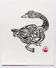 Untitled (AF Print30 Goose Long Neck)