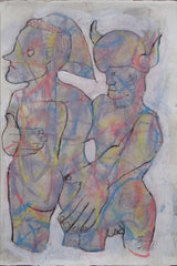 Untitled (Horned Man And Woman)