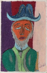 Untitled (Figure Beard and Hat JL13)