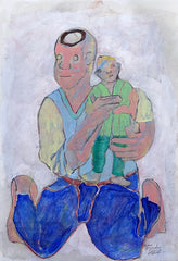 Untitled (Man with Child)