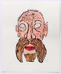 Man with Red Moustache (AF Print28)