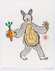 Rabbit Costume Carrot in hand (extended) (AF Print34)