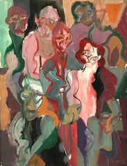Untitled (Six Figures One Head)