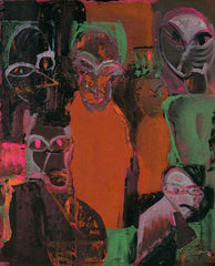 Untitled (Six Haunted Figures)