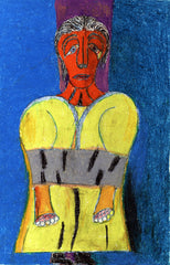 Untitled (Figure in Yellow Bound Hands JL18)