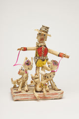 WH02 (Man with Gold Outfit and Four Dogs)