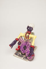 WH34 (Purple Man with White Hair and Guitar)