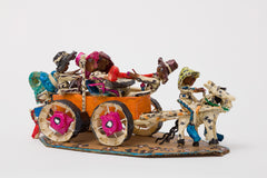 Untitled (WH225 six figures with orange wagon)