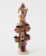 Untitled (WH232 head totem person on top)