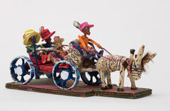 Untitled (WH237 four figures in horse drawn carriage)
