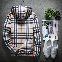 Men's Plaid Thick Jacket
