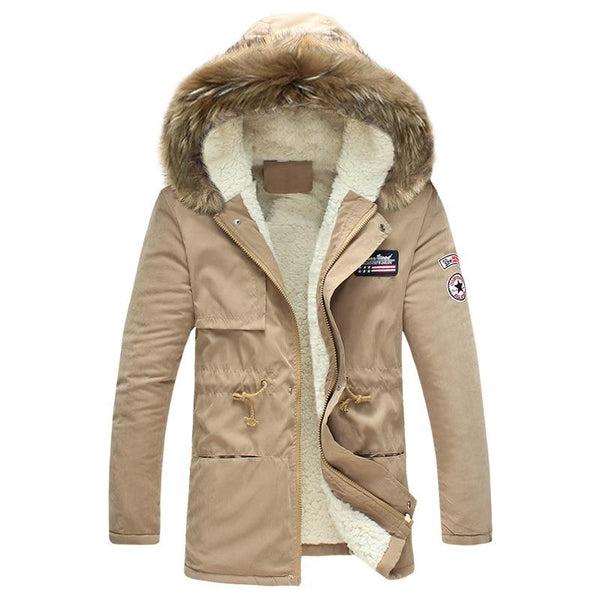 2020 New  Fur Collar Outdoor Windproof Overcoats