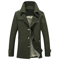 Button Lapel Plain OL Jacket