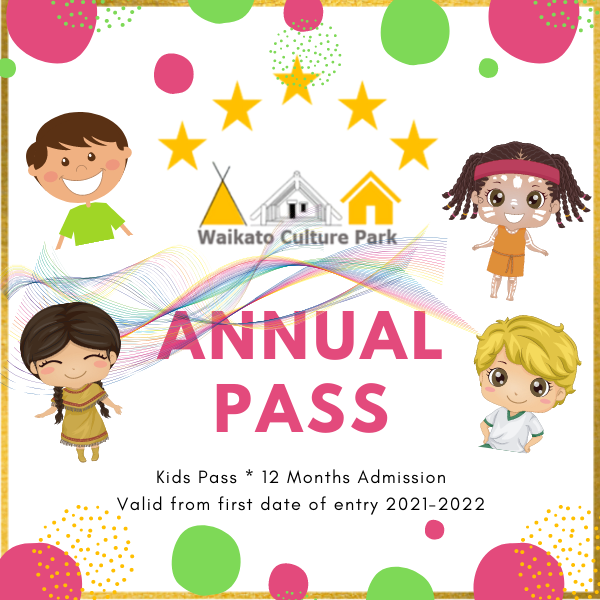 Annual Pass - Kids (Not in our EOTC Program)
