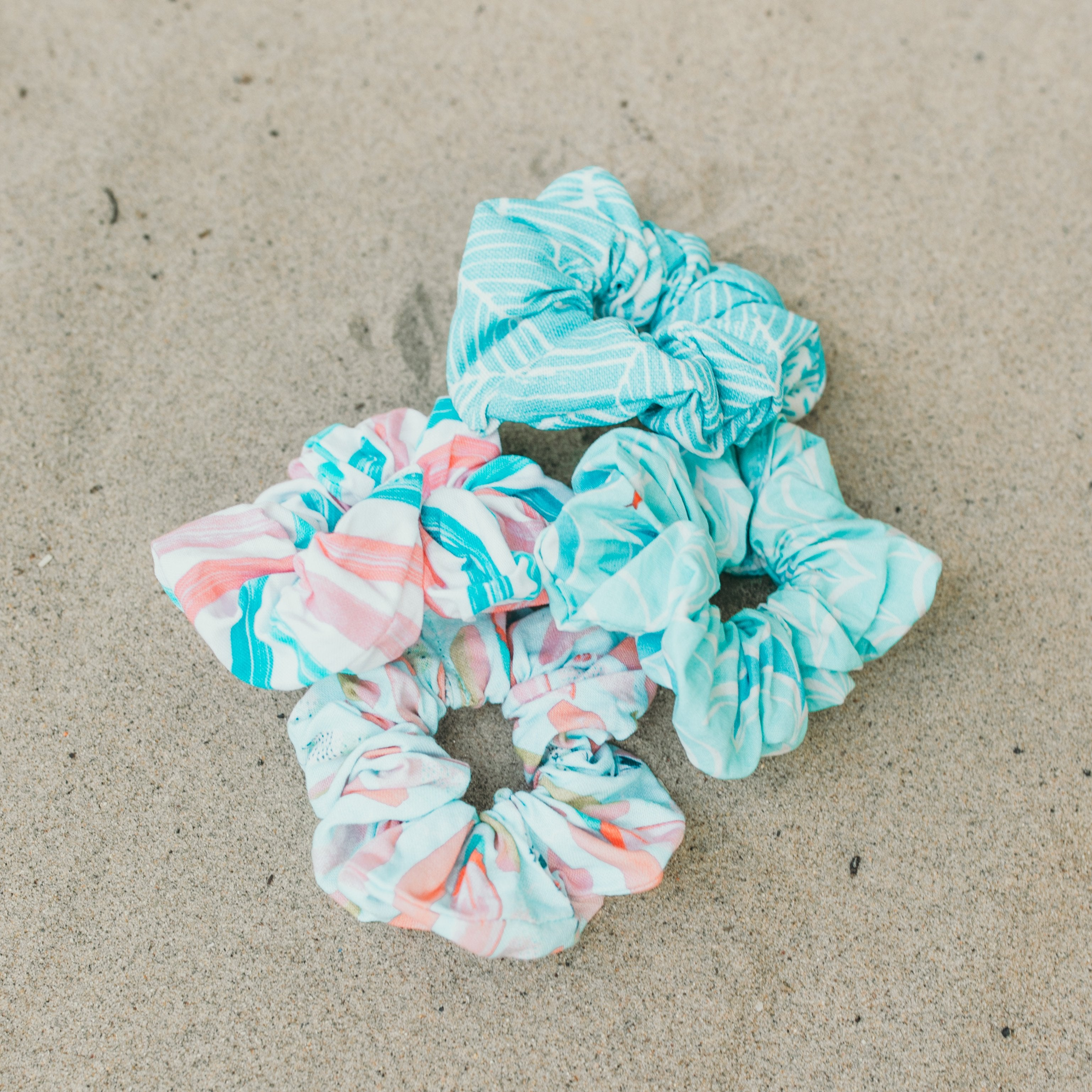 Summer Never Ends Scrunchies - West Coast Wag Co.