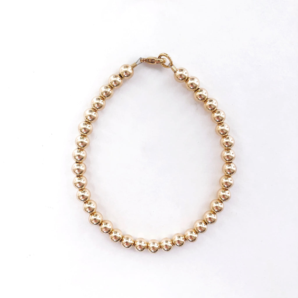 5mm 14k Gold Filled Bracelet