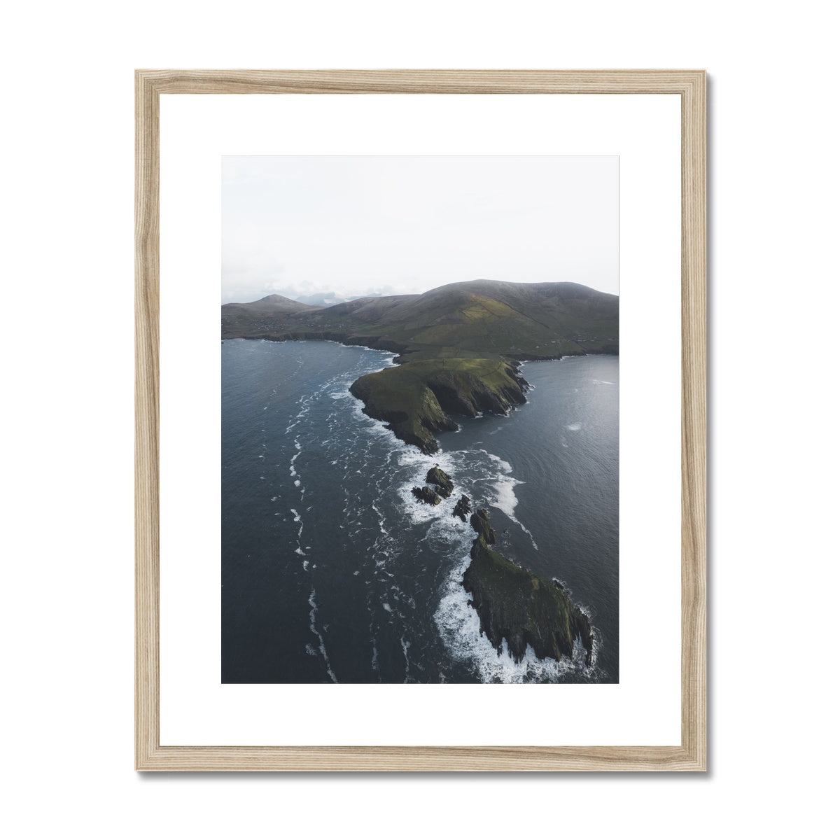 Dunmore Head Framed & Mounted Print