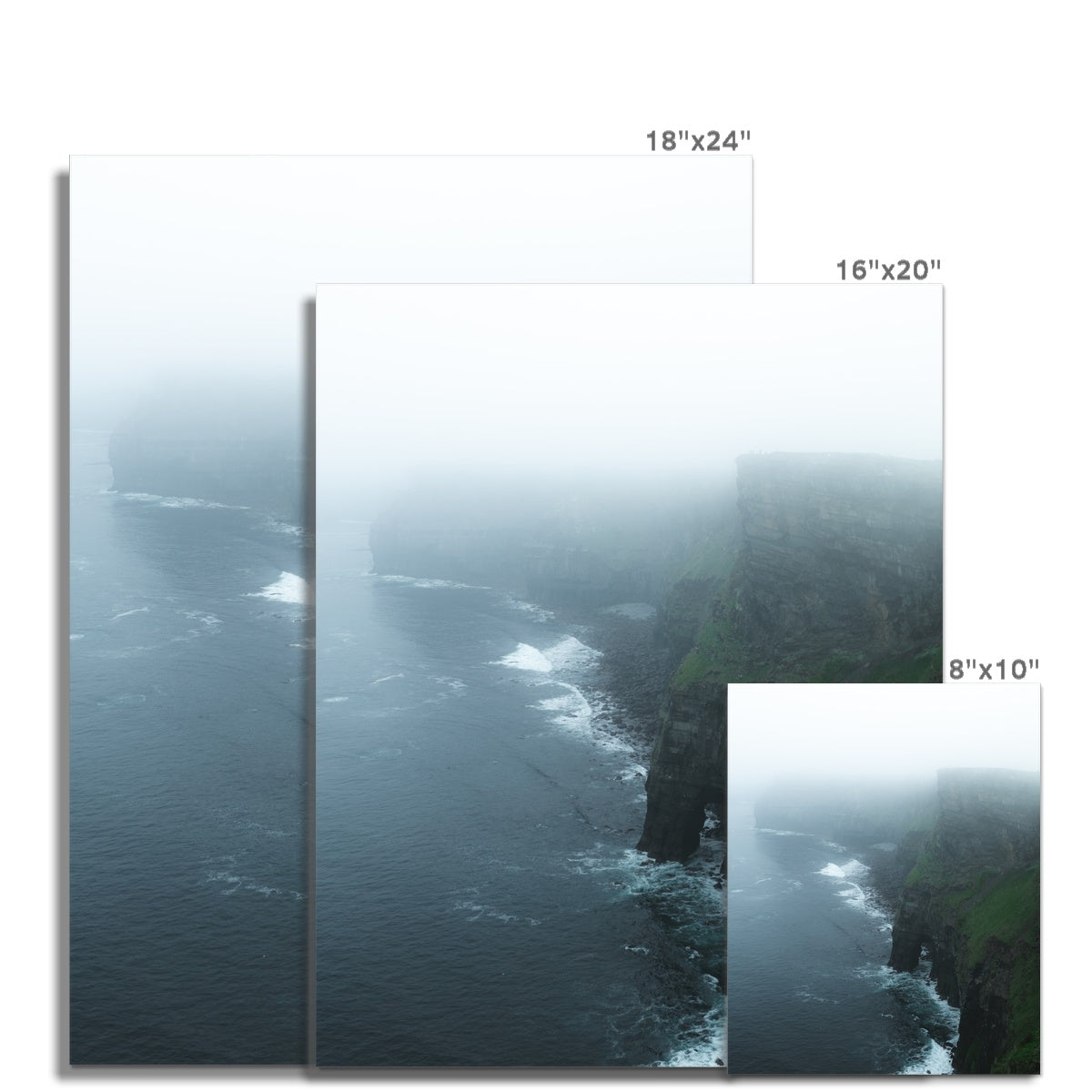 Cliffs of Moher (Portrait) Hahnemühle Photo Rag Print