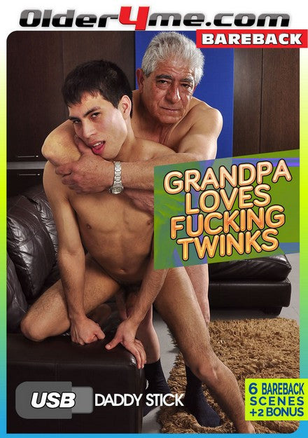 Careful With That Huge Cock Grandpa