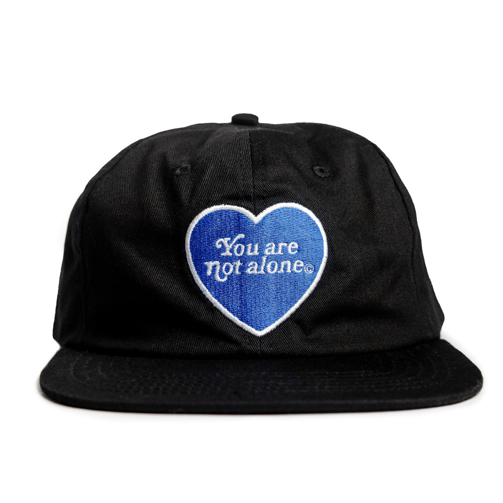You Are Not Alone Black Snapback - extrovertedintrovert