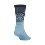 Giro Comp Racer High Rise Socks - Iceberg/Midnight