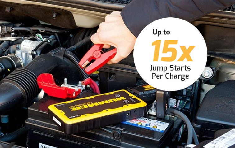 Hummer H2 Jump Starter Power Bank Starting Engine