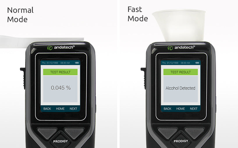 Andatech Prodigy S- fast and normal mode testing