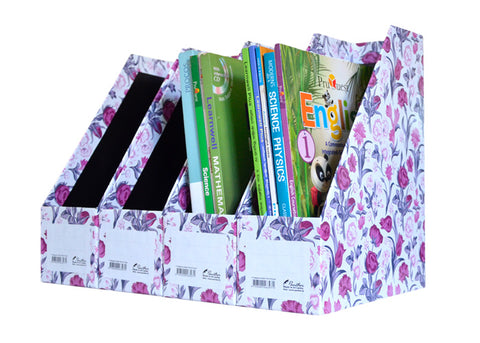 Magazine Holder -Pink and Purple